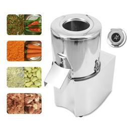 110V 550W Commercial Electric Vegetable Chopper Grinder Food