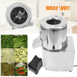 110V 550W Vegetable Chopper Meat Grinding Tool Commercial Fo