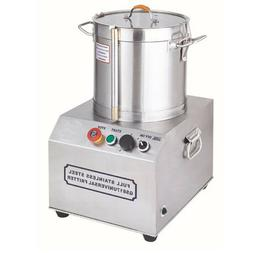 15L 110V Stainless Steel Electric Commercial Food Processor