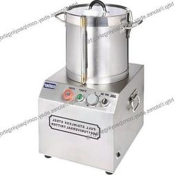 17l stainless steel electric commercial food processor