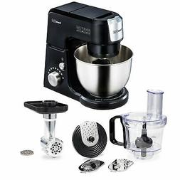 Geek Chef 2.6 Quart 7 Speed Stand Mixer with Mincer & Food P
