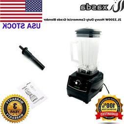 2L 2200W Heavy Duty Commercial Grade Blender Mixer Juicer Fo
