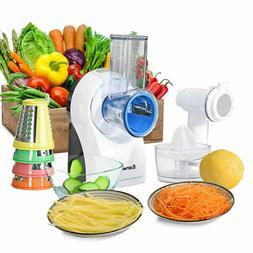 3 in 1 Electric Food Processor Citrus Juicer Frozen Dessert