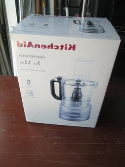 KitchenAid 7 Cup Food Processor - KFP0710 SILVER
