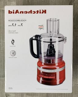 KitchenAid 7 Cup Food Processor KFP0718ER Empire Red Brand N