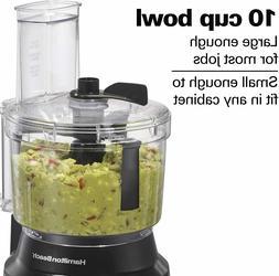 Hamilton Beach 70730 10-Cup Food Processor & Vegetable Chopp