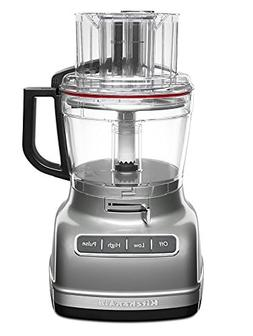 Kitchenaid - 11-cup Food Processor - Contour Silver