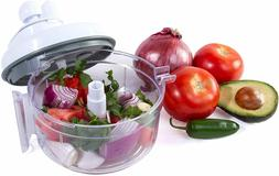 Salsa Master Salsa Maker, Food Chopper, Mixer and Blender -