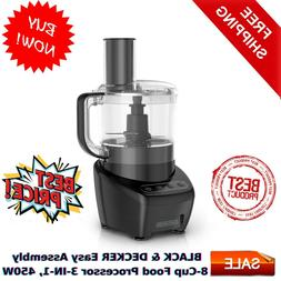black and decker easy assembly 8 cup