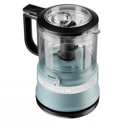 Brand New VELVET BLUE KitchenAid 3.5-Cup 2-Speed Food Proces