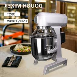 Commercial Dough Food Mixer 30L 1100W Food Processor Stainle
