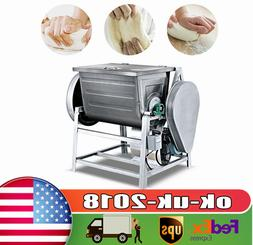 Commercial Dough Food Mixer 50rpm 1500W Food Processor Stain