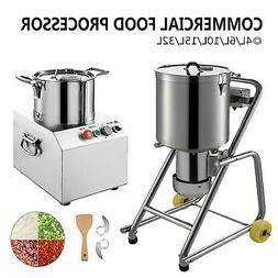 Commercial Food Processor Food Grinder Blender 4L~32L Elec C