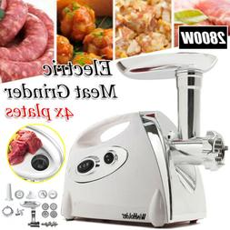 Commercial Stainless Steel Electric Meat Grinder Food Proces