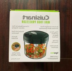 Cuisinart CTG-00-PCH Manual Mini Food Processor, Color Black