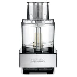 Custom 14-Cup 2-Speed Brushed Stainless Steel Food Processor