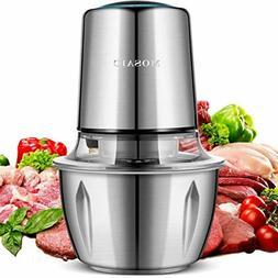 electric food chopper 400w food processor titanium
