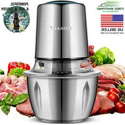 Electric Food Processor MOSAIC, Chopper, Meat Grinder, Stain