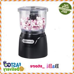 Food Processor Mini Chopper 3 Cup Electric Black Stainless S