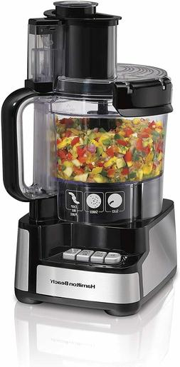 Hamilton Beach 12-Cup Stack & Snap Food Processor & Vegetabl