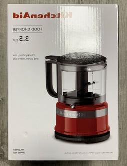 KitchenAid - KFC3516ER 3.5-Cup Mini Food Processor - Empire