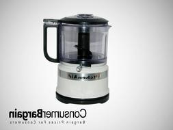KitchenAid KFC3516WH 3.5 Cup Mini Food Processor Guaranteed