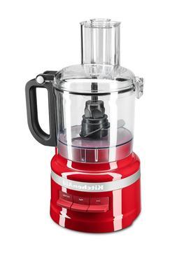 KitchenAid KFP0718ER 7-Cup Food Processor - Empire Red *Bran
