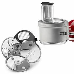 New KitchenAid ExactSlice Food Processor Attachment KSM2FPA