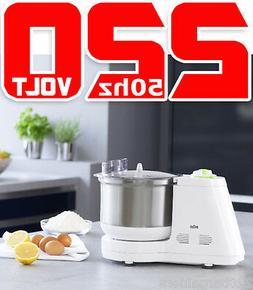 Braun KM3050 220 Volt Food Processor Kitchen Machine Non-U.S