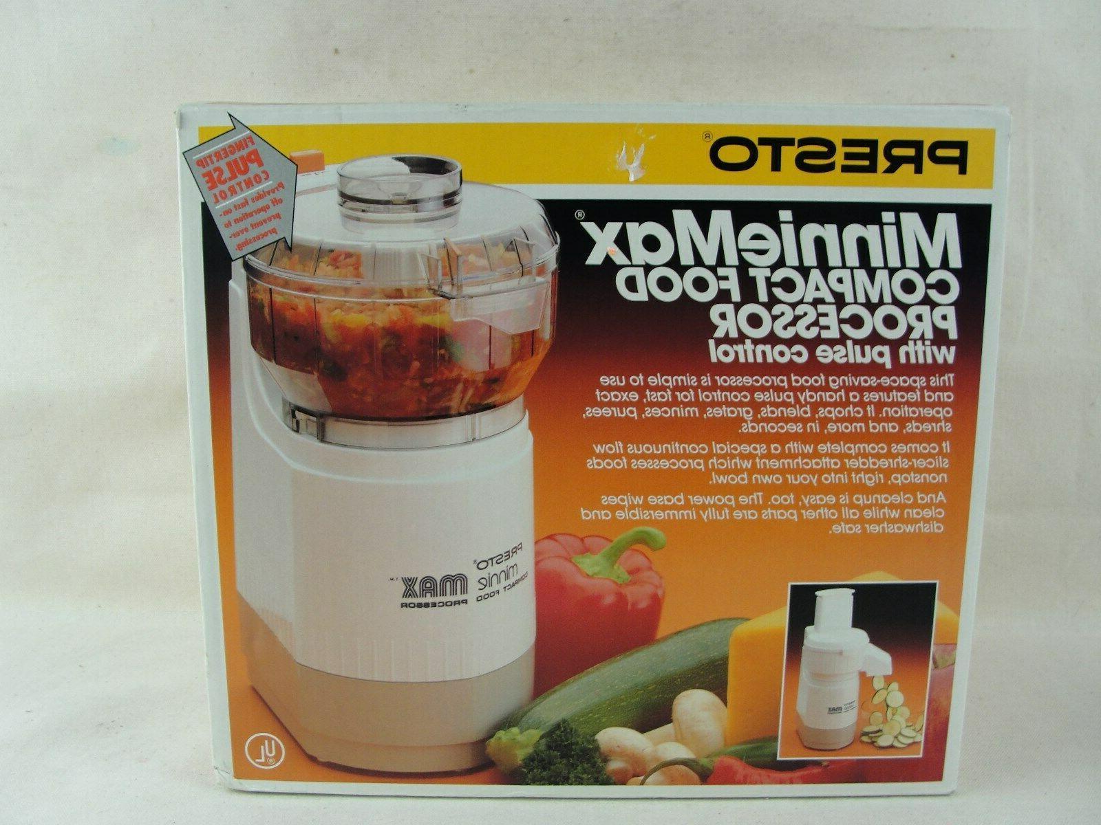 02900 minnie max compact food processor new
