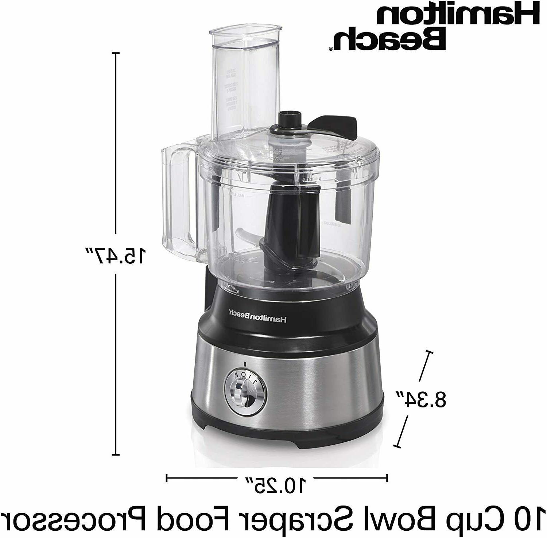 Hamilton 10-Cup Processor Vegetable 70730 New