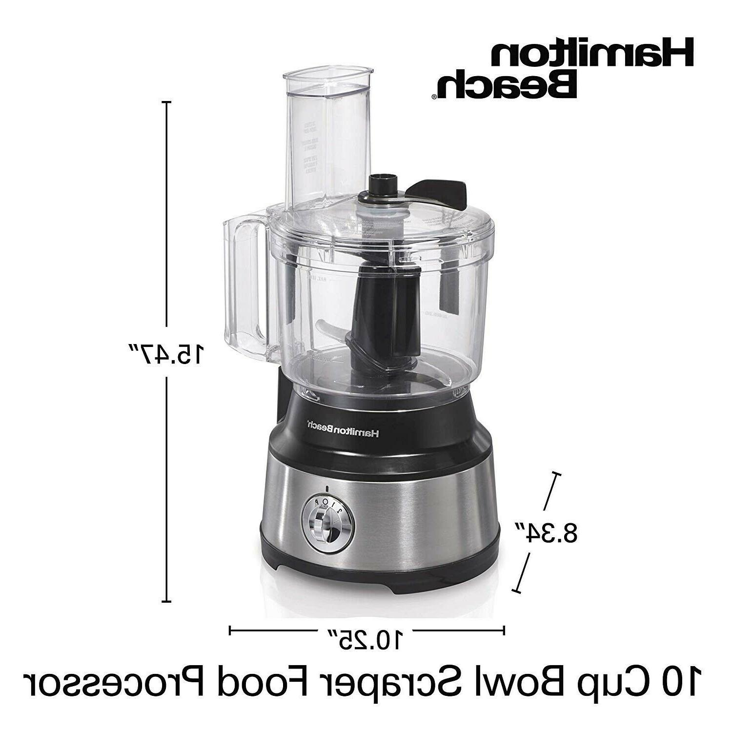 10 Cup Kitchen With Bowl Scraper Electric