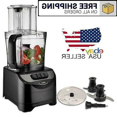 10 cup food processor vegetable chopper grater