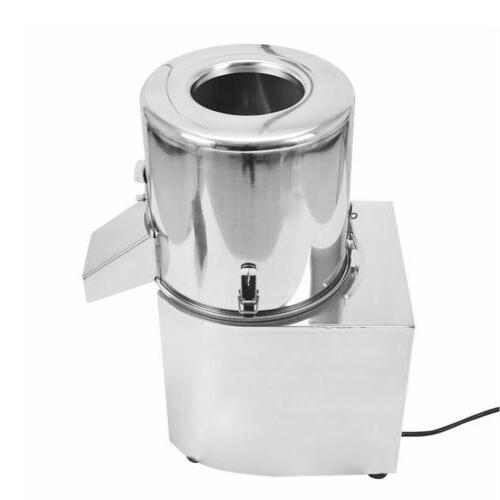 110V Commercial Food Processor Electric Vegetable Machine 550W