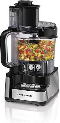 12-Cup Stack and Snap Food Processor Vegetable Chopper