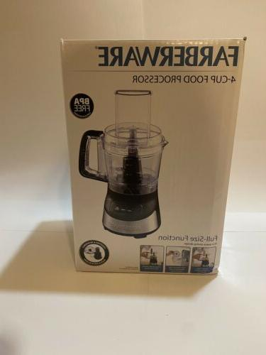 4 cup food processor stainless steel deco
