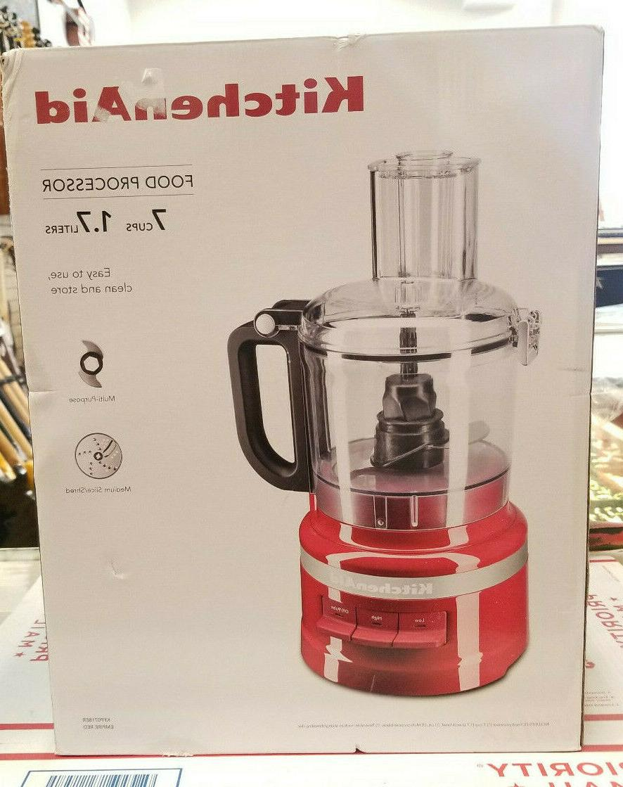 7 cup food processor kfp0718er empire red