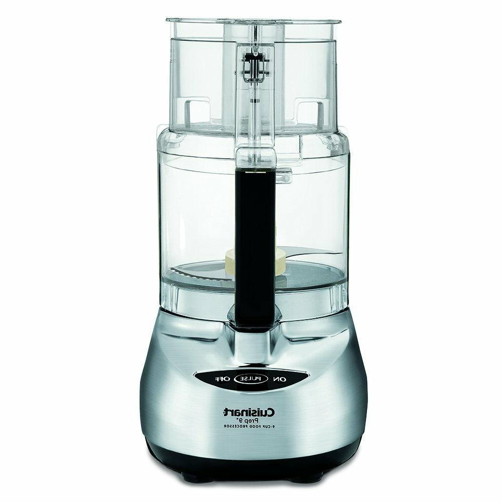 Cuisinart DLC-2009CHBMY Prep 9 9-Cup Food Processor, Brushed