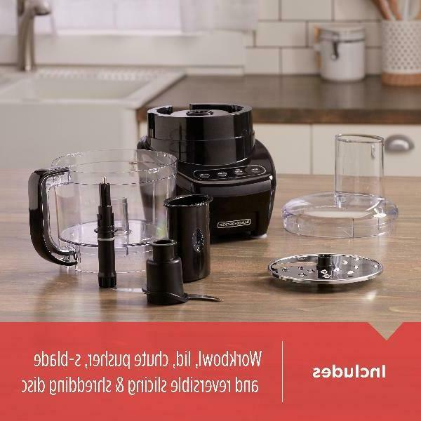 BLACK+DECKER Easy Assembly 8-Cup Food Black,