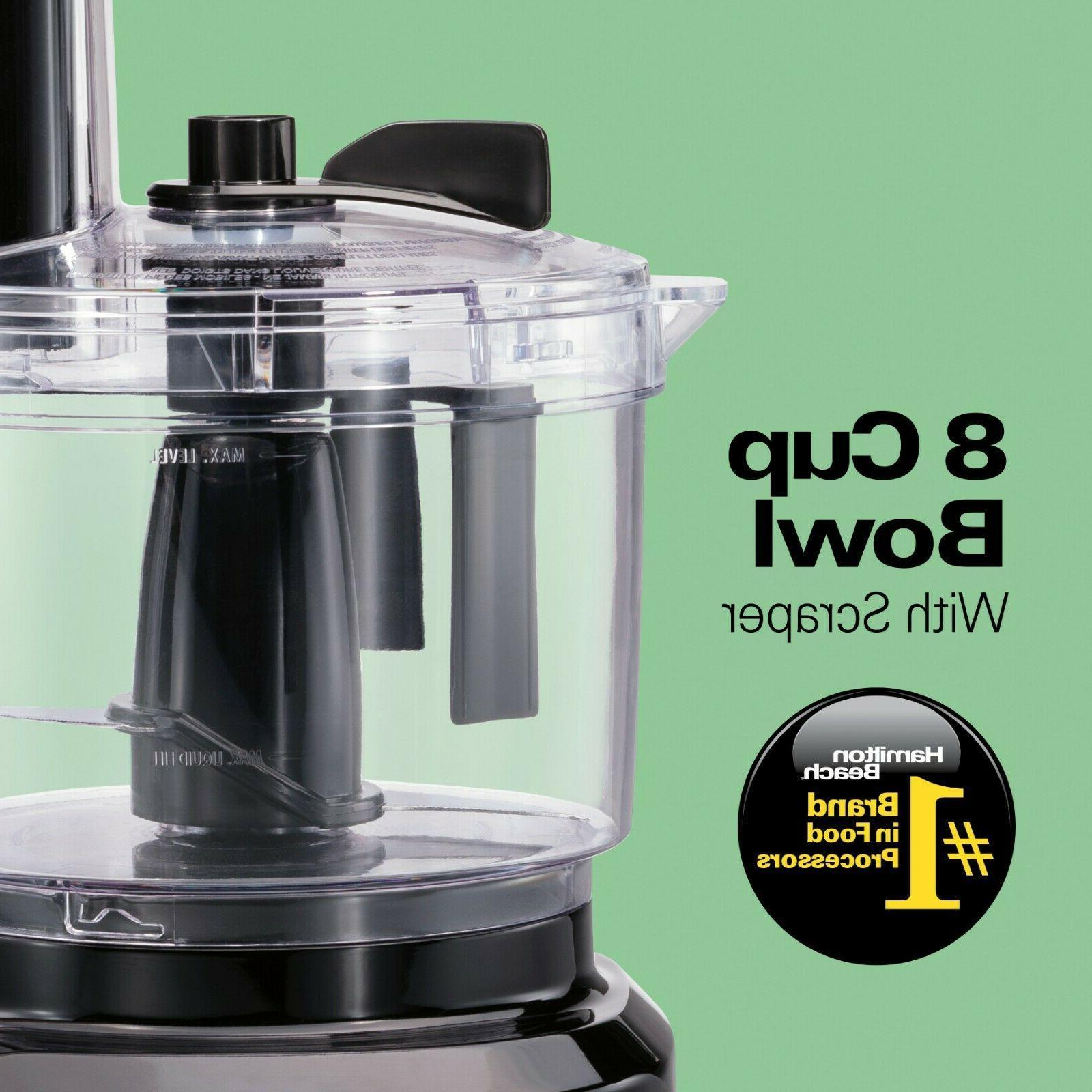 Bowl 8 Cup Food Processor Blender