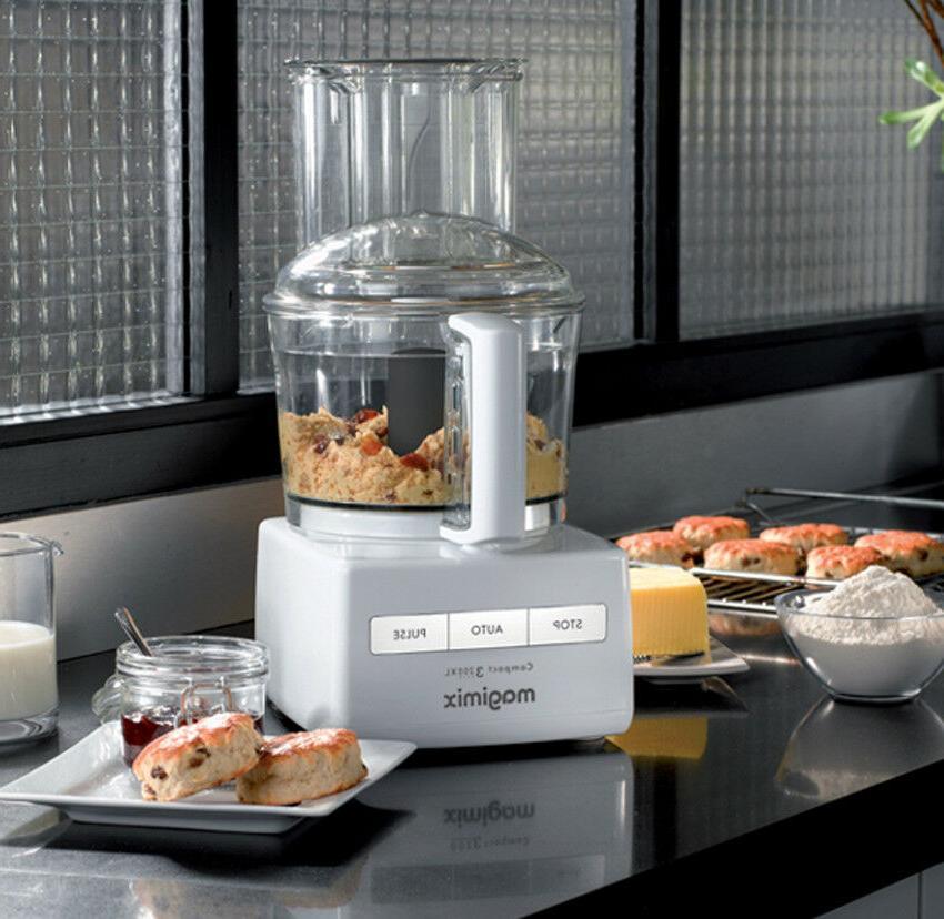 Magimix Compact 3200 XL 650 Watt Multifunction Food Processor White