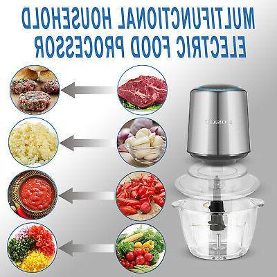 MOSAIC Food Food Chopper, Meat Glass 400W