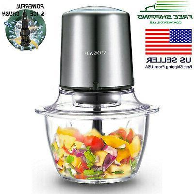 electric food processor food chopper meat grinder