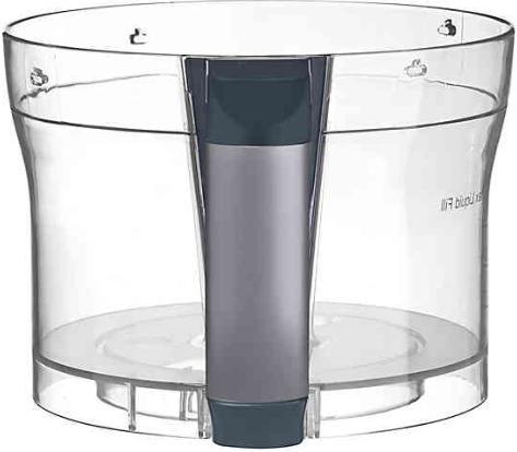 Cuisinart Elemental Processor 3-Cup Bowl in Gunmetal