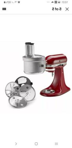food processor attachment with dicing kit ksm2fpa