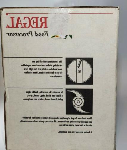 Regal Food Processor No. K7757GT Attachment