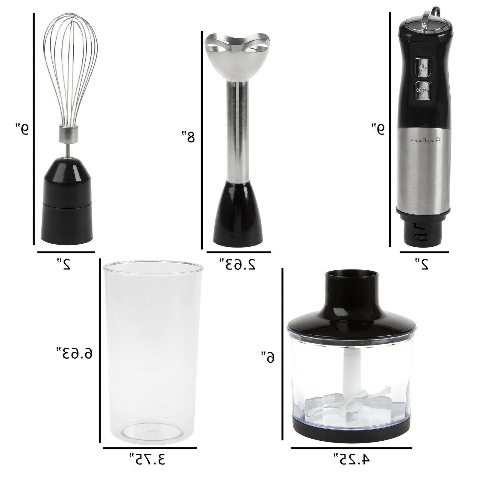 Immersion Food Whisk 4 in Appliance