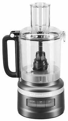 KitchenAid KFP0919BM 9 Cup Food Processor Plus, Black Matte