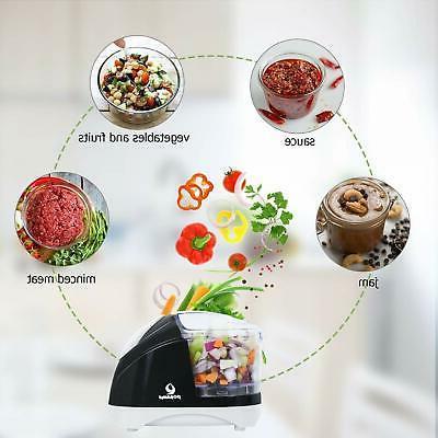 POSAME Grinders Electric Food Processor,Mini Food Chopper Vegetable