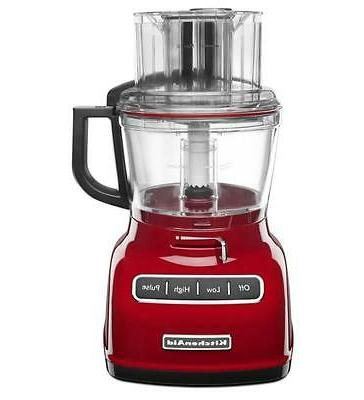 new 9 cup wide mouth food processor